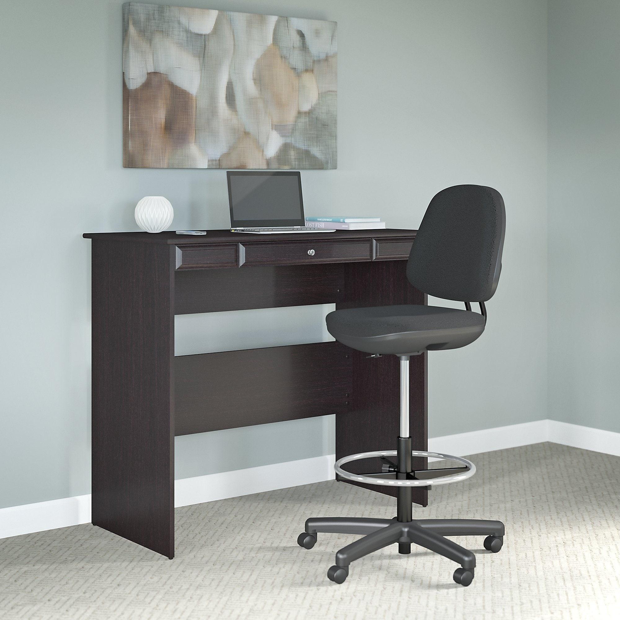 Bush Furniture Cabot Standing Desk with Adjustable Stool ...