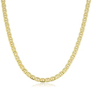 Fremada 14k Yellow Gold Filled Men's 5mm Mariner Link Chain Necklace|https://ak1.ostkcdn.com/images/products/12874840/P19635347.jpg?impolicy=medium