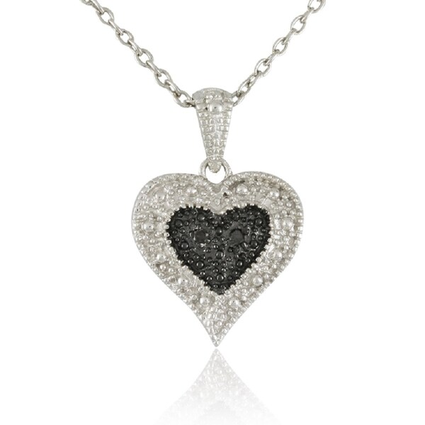 5cd24b817767a Shop Sterling Silver Two-tone Rhodium-plated .925 Sterling Silver ...