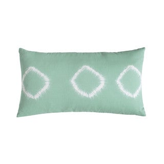 Amy Sia Artisan Green Tie Dye Decorative Pillow