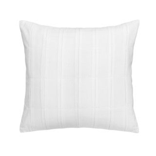 Jill Rosenwald Capri Stripe Kissing Pleat Decorative Pillow 16-inch