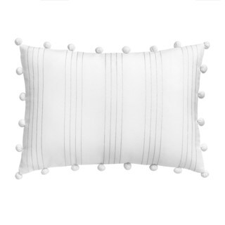 Jill Rosenwald Capri Vertical Stripe Decorative Pillow