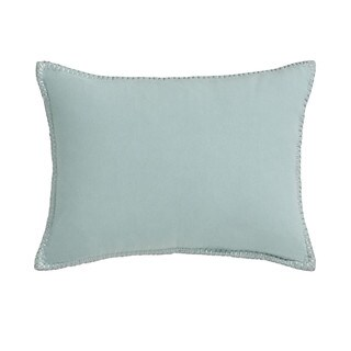 Jill Rosenwald Capri Stripe Stitched Edge Decorative Pillow