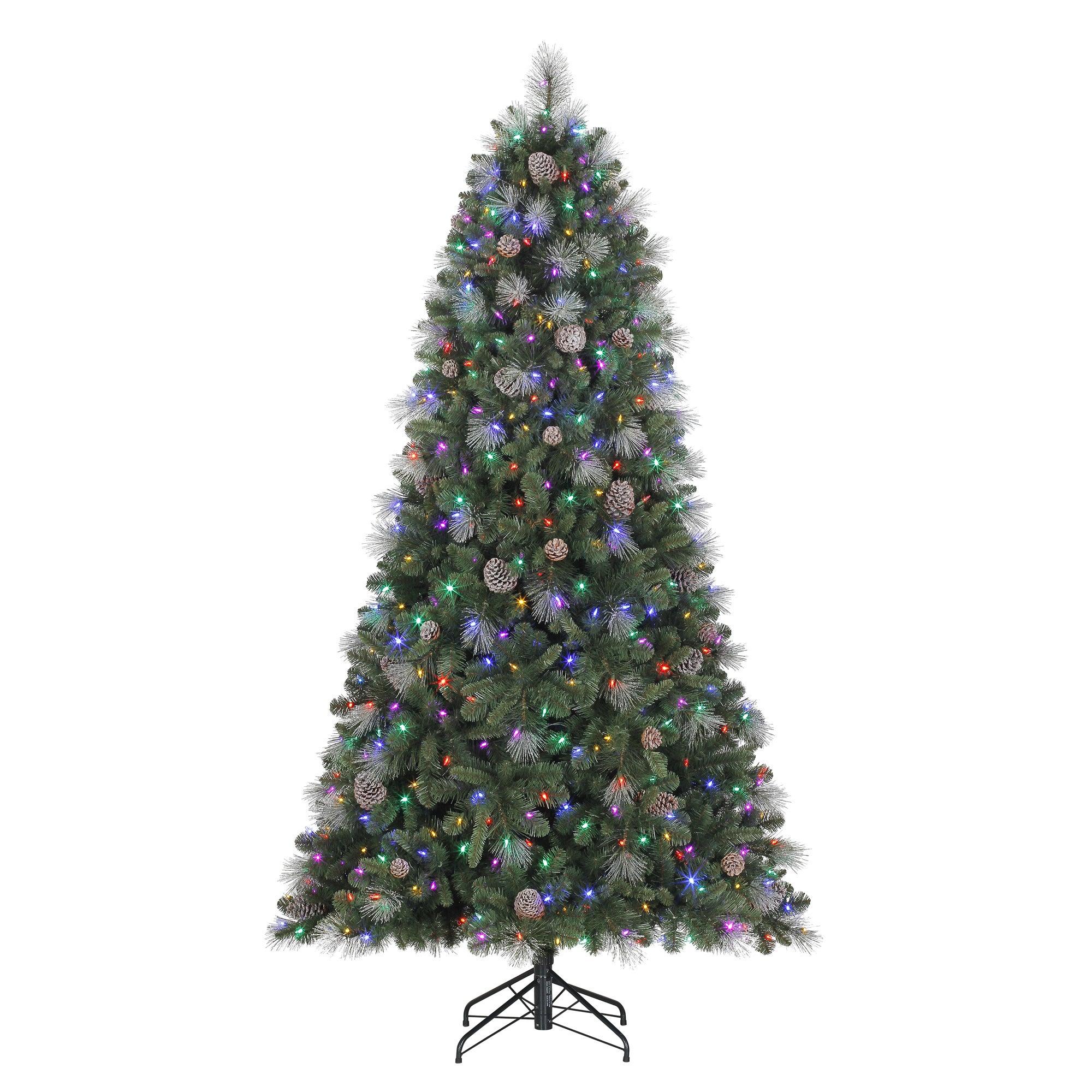 Polygroup Sheridan Glitter Pine (Green) 7.5-foot Quick Se...