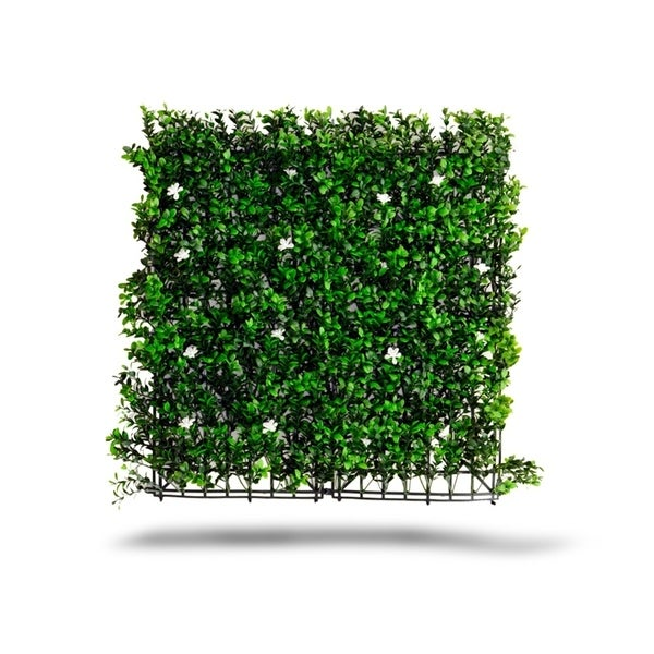 Indoor/Outdoor Tulum Flowering Artificial Foliage Wall Panels (Set of 4) - Green. Opens flyout.