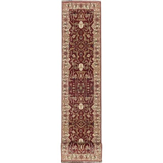 eCarpetGallery Hand-knotted Serapi Heritage Cream/Red Wool Rug (2'7 x 20'1)