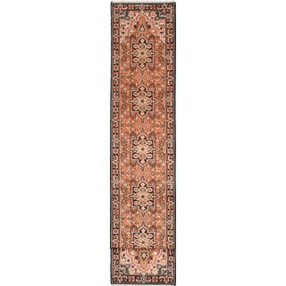 eCarpetGallery Royal Heriz Brown Wool Hand-knotted Rug (2'7 x 20'2)