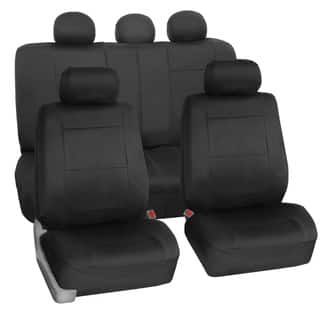 FH Group Neoprene Water Resistent Seat Covers Black (Full Set)|https://ak1.ostkcdn.com/images/products/12875467/P19635822.jpg?impolicy=medium
