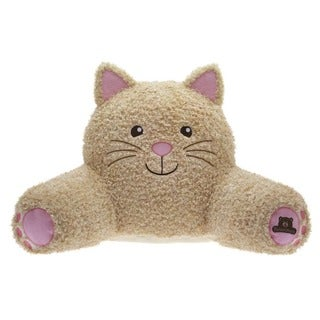 Bed Rest Brown Polyester Cat Support Pillow