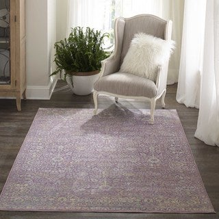 Machine-Made Harlow Lazarro Polyester Rug (9' x 12')