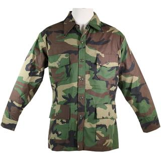 Champion's Choice Men's BDU Military Multicolored Cotton Camouflage 4-pocket Shirt