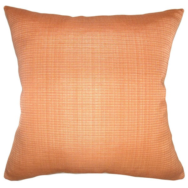 Waer Solid Euro Sham Orange