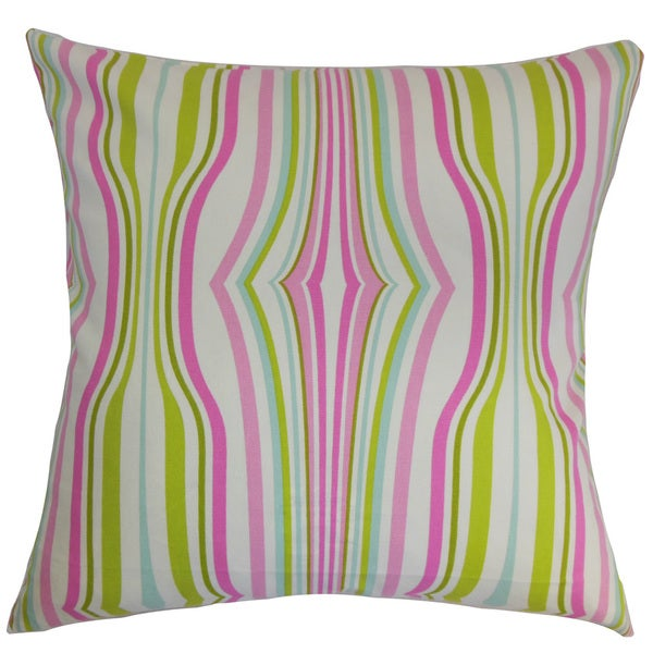 Cachoiera Stripes Euro Sham Bubblegum