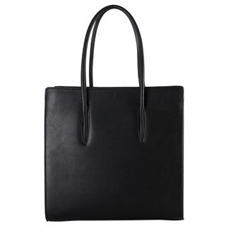 Diophy Faux Leather Studded Multi-spaced Tote Bag