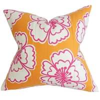 Winslet Floral Euro Sham Orange