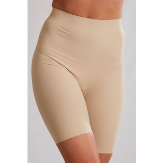 Flaksima Women's High-waisted Slimming and Toning Liner Shorts