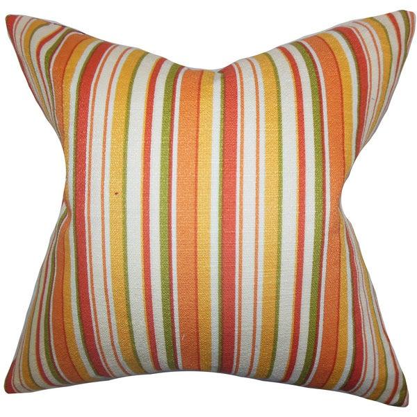 Tait Stripes Euro Sham Orange