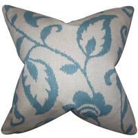 Jennet Floral Euro Sham Blue