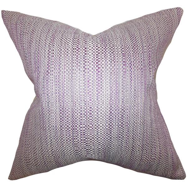 Zebulun Woven Euro Sham Purple