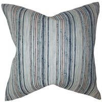 Bartram Stripes Euro Sham Blue