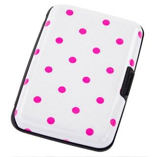 Aluma White Aluminum Hard-case Wallet