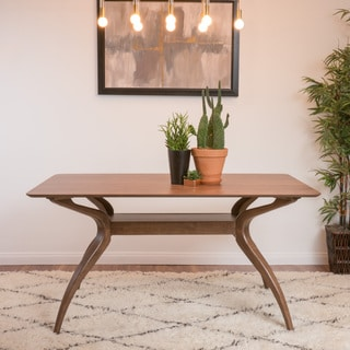 Link to Salli Natural Finish Wood Dining Table by Christopher Knight Home Similar Items in Dining Room & Bar Furniture
