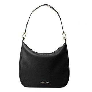 Michael Kors Raven Black Large Shoulder Handbag