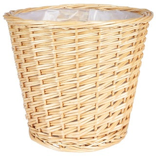 Medium Willow Waste Basket
