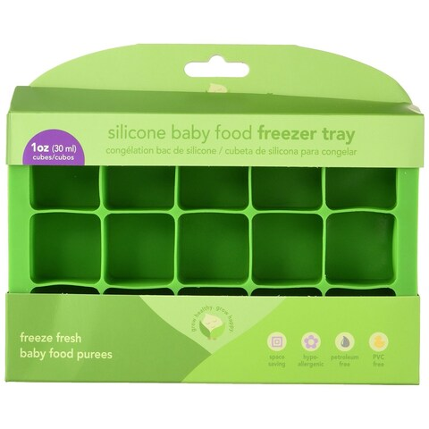 Green Sprouts Silicone Fresh Baby Food Freezer Tray