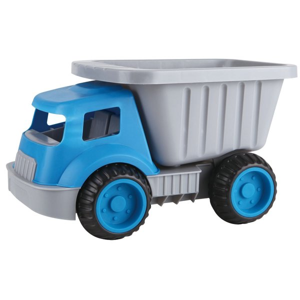 Hape Blue Grey Plastic Load and Tote Dump Truck