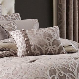 Five Queens Court Ivy Damask Boudoir Pillow