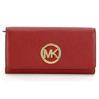 Michael Kors Soft Venus Brick Carryall Wallet
