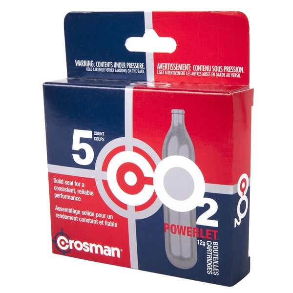 Crosman 231B CO2 Cartridges 5-count