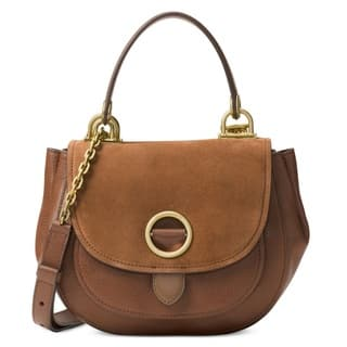Michael Kors Isadore Dark Caramel Medium Suede Satchel Handbag|https://ak1.ostkcdn.com/images/products/12876305/P19636584.jpg?impolicy=medium