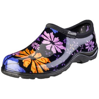 Sloggers 5116FP06 Women's Flower Power Waterproof Shoe