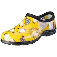 Sloggers 5116CDY06 Women's Chicken Print Daffodil Yellow Waterproof Shoe
