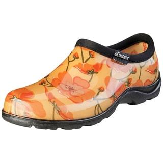 Sloggers  California Dreaming  Women's  Rain and Garden Shoe  Size 6  Yellow/Orange