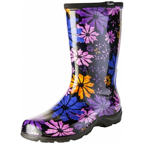 Sloggers 5016FP06 Flower Power Garden Boot