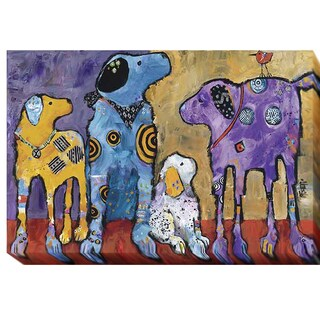 Cast of Characters by Jenny Foster Gallery Wrapped Canvas Giclee Art