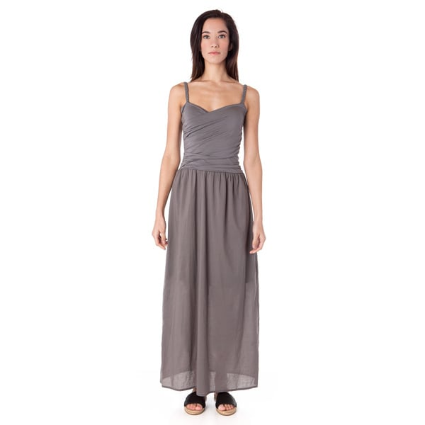 23da6d34397ba Shop AtoZ Long Braided Strap Wrap Dress - Free Shipping Today ...
