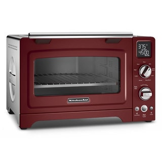 KitchenAid KCO275GC Gloss Cinnamon 12-inch Convection 1800-watt Digital Countertop Oven