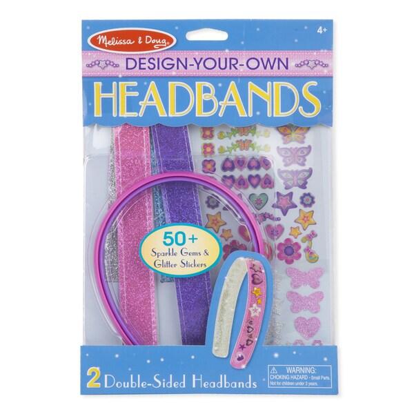 Melissa & Doug 05548 Design-Your-Own Headbands
