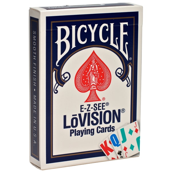 Bicycle 1001017 E-Z See LoVision Playing Cards