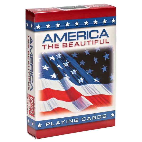 Bicycle 1001198 America The Beautiful Playing Cards