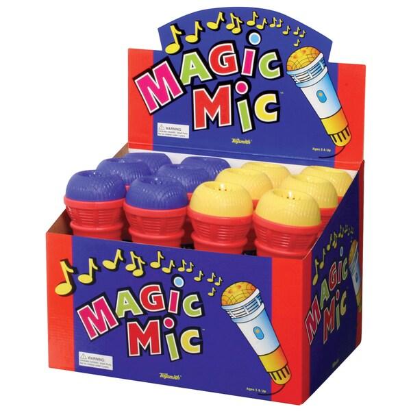"Toysmith 00180 9.5"" Magic Mic Assorted Colors"