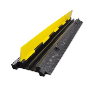 Pyle PCBLCO26 Cable Protective Cover Ramp and Hassle-Free Cord/Wire Concealment Protection Track