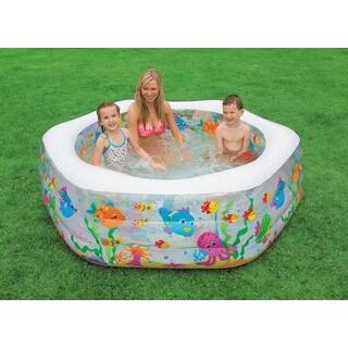 """The Wet Set 56493EP 76"""" Ocean Reef Inflatable Pool"""