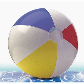 "The Wet Set 59020EP 20"" Glossy Panel Beach Ball Assorted Colors"