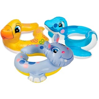 "The Wet Set 59220EP 24"" X 22"" Animal Split Swim Rings Assorted Styles"