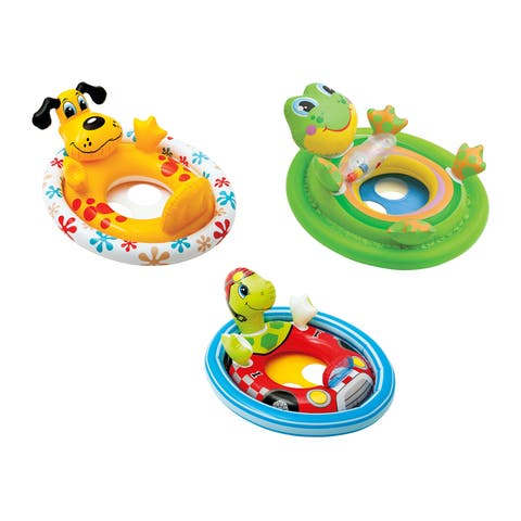 """The Wet Set 59570EP 33"""" X 24"""" See Me Sit Pool Riders Assorted Styles - 9.6 x 9.6 x 1.6 inches"""